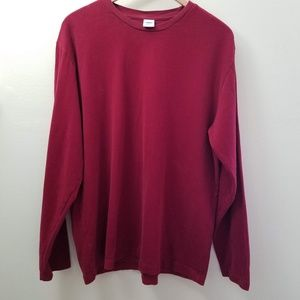 Old Navy Velvet Long Sleeve Top